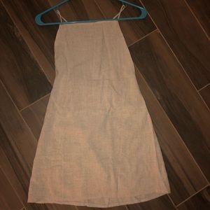 Peppermayo beige dress (Austrian size 8)
